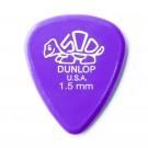 Dunlop Delrin Lavender Guitar Pick 1.5mm (Single Pic)