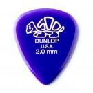 Dunlop Delrin Dark Purple Guitar Pick 2.00mm
