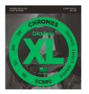 Daddario ECB80 Chromes Bass, Light, 40-95, Long Scale