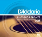 D'Addario EJ16-3D 3 Pack Phosphor Bronze Light 12-53