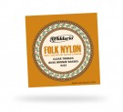 EJ34 Folk Nylon 80/20 Bronze/Ball End Black Treble