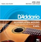 D'Addario EJ83L Gypsy Jazz Light Acoustic Guitar Strings 10-44
