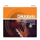 D'Addario EJ87B Titanium Ukulele, Baritone