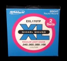 Daddario EXL Bass Strings Nickel Wound