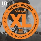D'Addario EXL110-10P 10-46 x 10