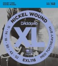 EXL116 Electric Guitar Strings - Med/Heavy 11-52