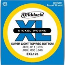 Daddario EXL125 Electric Guitar Strings, Light/Regular 9 - 46