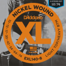 Daddario EXL140-8 Nickel Wound, 8-String, Light Top/Heavy Bottom, 10-74