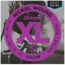 EXL156 Nickel Wound Bass VI Strings (24-84)