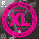 D'Addario EXL170-5TP - Twin Pack 45-130