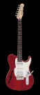 Black Label Country Squire Semitone De Luxe, Thru Red