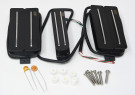 Joe Barden S-Deluxe HSH Set Pickups (Black)