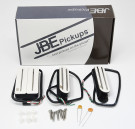 Joe Barden S-Deluxe HSS Set Pickups (White)