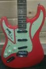 Burns Guitar Cobra Red (Left Handed)