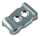 Handle Clip Inner Zinc Plated End Cap