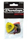 PVP101 Plectrum Variety Players 12 Pack - Medium / Light