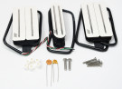 Joe Barden S-Deluxe HSH Set Pickups (White)
