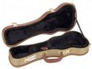 Kinsman KUX10 Deluxe Tweed Soprano Ukulele Case