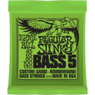Regular Slinky 5-string Bass Nickel Wound  45 -130