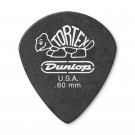 Jim Dunlop Tortex Pitch Black Jazz III .60mm