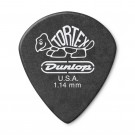 Jim Dunlop Tortex Pitch Black Jazz III 1.14mm