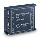 Palmer Pro PMS 02 - Dual Channel Microphone Splitter