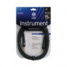 Planet Waves PW-G-15 Custom Series Instrument Cable, 15 feet