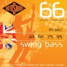 RS66LC Swing Bass Roundwound Strings Stainless Steel (40-95)