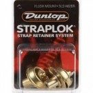 Jim Dunlop SLS1402BR Strap Lock Flush - Set