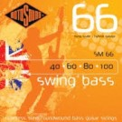 rotosound SM66 Long Scale Roundwound Swing Bass Hybrid (40-100)