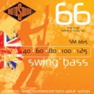 rotosound SM665 Long Scale Roundwound Swing Bass Hybrid 5 String (40-125)