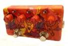 ZVEX Sonar Tremolo - Hand Painted A154