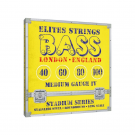 Elites Stadium 40-100 Stainless Steel Bass Strings, Long Scale