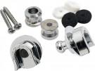 Fender Strap Locks (Set of 2) Chrome