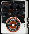 Electro Harmonix Super Space Drum Analog Drum Synthesizer  A faithful reissue of the cult-classic released in 1979, the SSD uses analog synthesis techniques to create mind-blowing sounds ranging from deep kicks to high toms to sci-fi drums. Trigger it fro