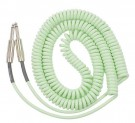 Retro Coil Cable 20ft Straight Plugs (Surf Green) LCRCSG