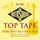 Rotosound Top Tape Monel Flatwound (12-52)