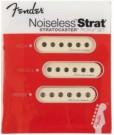 Fender Vintage Noiseless Stratocaster Pickups (Aged White x3)