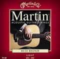 M140 80/20 Bronze Acoustic Guitar Strings 12-54