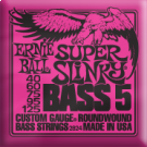 Super Slinky 5-string Bass Nickel Wound  40-125