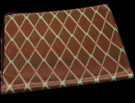 Brown Diamond Fret Cloth