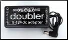 Doubler 9-18V DC adapter