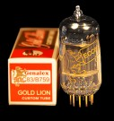 Gold Lion 12AU7/ecc82