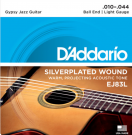 EJ83L Gypsy Jazz Light Acoustic Guitar Strings 10-44