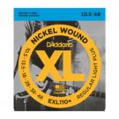 EXL110+ 10.5-48 Regular Light Plus Set