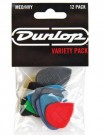 PVP102 Plectrum Variety Players 12 Pack - Medium / Heavy