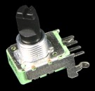 Potentiometer 11mm, Rotary Carbon