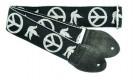 Guitar Strap - Peace Dove (GS0343BK02BK)