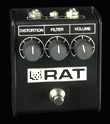 Rat 85 White Face Limited Edition, distortion pedal