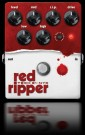 Red Ripper Bass Distortion Effect Pedal